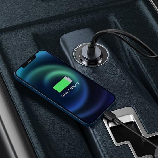 Baseus Зарядно за кола Share Together PPS multi-port Fast charging Gray