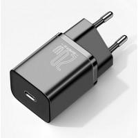 Baseus Адаптер за зареждане Super Si Quick Charger Black