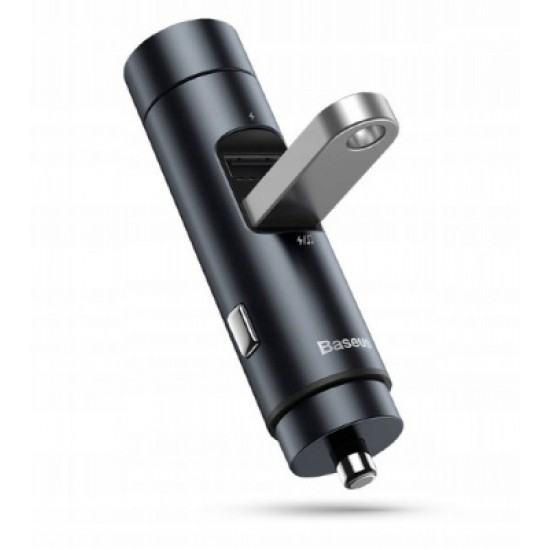 Baseus Зарядно за кола Energy Column Dark grey
