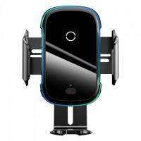 Baseus Стойка за телефон с безжично зареждане Light Electric Holder 15W