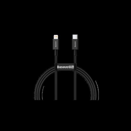 Baseus Кабел за зареждане Superior Series Fast Charging Data Cable Black