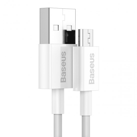 Baseus Кабел за зареждане Superior Series Fast Charging Data Cable White