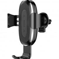 Baseus Стойка за телефон с безжично зареждане Wireless Charger Gravity Car Mount