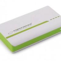 Esperanza Външна батерия Atom 11000mAh Green