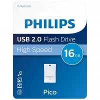 Philips USB 2.0 16GB Pico Edition Blue