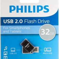 Philips USB 2.0 32GB 2 in 1 Micro USB