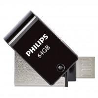 Philips USB 2.0 64GB 2 in 1 Micro USB