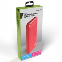 TRACER Външна батерия 10000 MAH SLIM RD Red