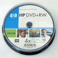 DVD+RW HP ( Hewlett Packard ) 4.7Gb./16X ( ш-л 10 )! - sold out/изчерпана наличност