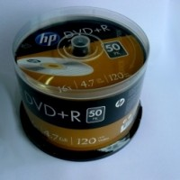 DVD+R HP ( Hewlett Packard ) 4.7Gb./16X ( ш-л 50 )