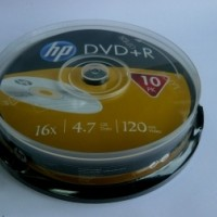 DVD+R HP ( Hewlett Packard ) 4.7Gb/ 4X. ( ш-л 10 )