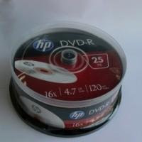 DVD-R HP ( Hewlett Packard ) 4.7Gb./16X ( ш-л 25 )