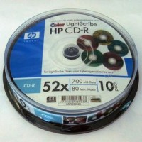 CD-R HP ( Hewlett Packard ) ( ш-л10 ) Light Scribe Colour! - sold out/ изчерпана наличност