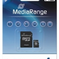 MediaRange Micro SDHC Card 4GB ( Class 4 )
