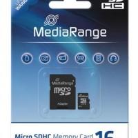 MediaRange Micro SDHC Card 16GB ( Class 6 )