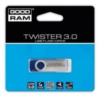 GoodRam TWISTER BLUE  (USB 3.0) Flash Drive  8, 16, 32 or 64 GB