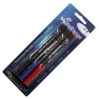 MediaRange Перманентни маркери за CD/ DVD/ BDR (к-кт от 3 цвята)