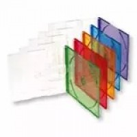 CD Slim Box ( Цветен * ) 5.2 mm / * прозрачен, зелен, жълт, син или червен /
