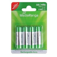 MediaRange rechargeable Accu Mignon AA|HR6 1.2V Pack 4