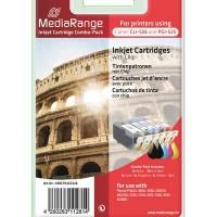 MediaRange MRCP 525 C 526 ( Canon )  for use with: Pixma iP4820, 4850, 4950, IX6550, MG5150, 5250, 5350, 6150, 6250, 8150 MX885