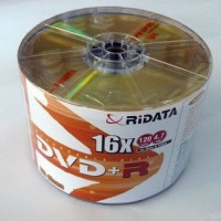 DVD+R RIDATA 4.7Gb./16X ( bulk 50 pcs )