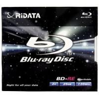 BD-RE ( Blu-Ray Disc Rewritable) RIDATA 25GB /2X + Box
